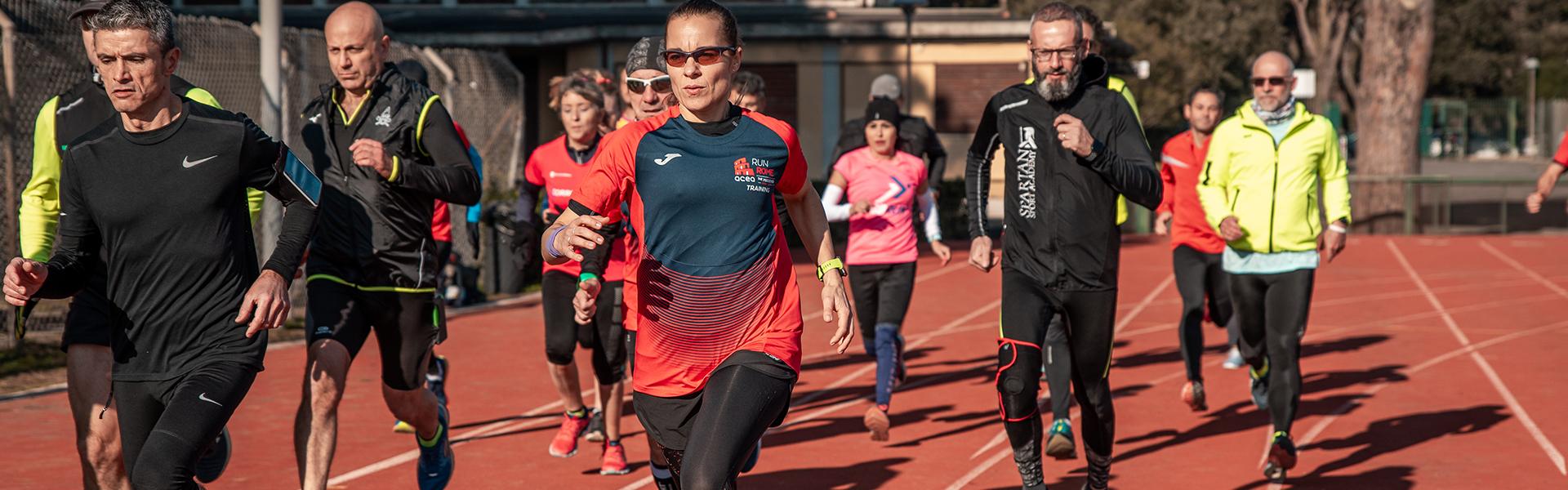 Centocelle protagonista per i 'Get Ready', gli allenamenti dell'Acea Run Rome The Marathon