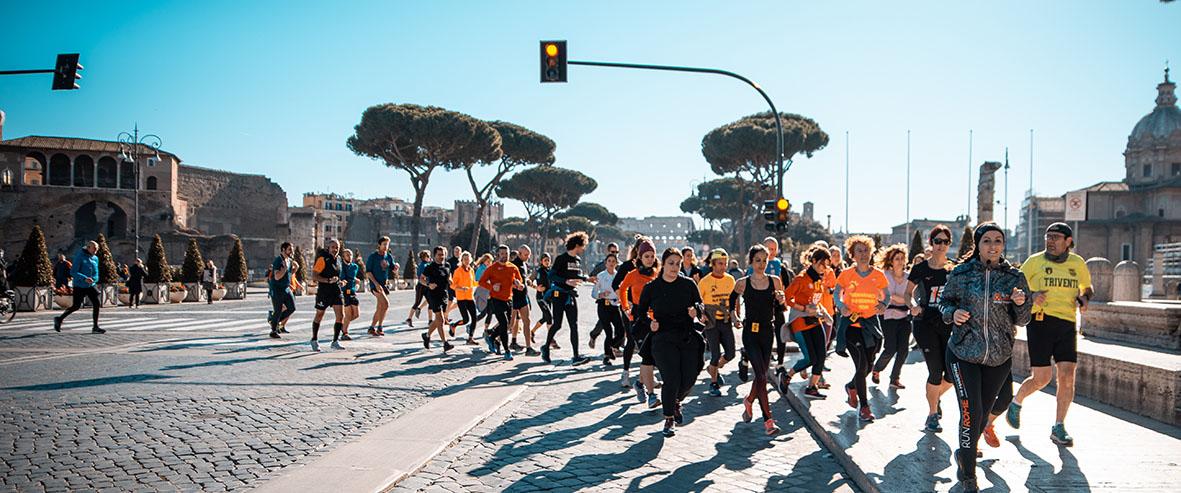 Domenica 5 settembre alleniamoci insieme con i Get Ready a Ponte Milvio e a Piazza del Popolo con l'Archeorunning