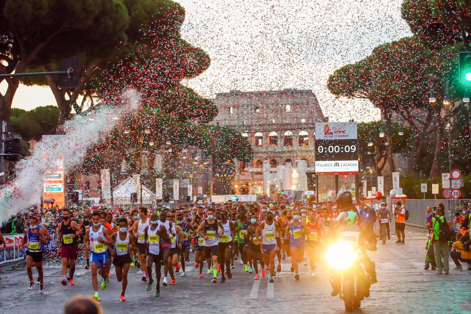 Acea Run Rome The Marathon, the Kenyan newcomer Clement Kiprono triumphs